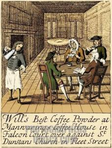 Advertisement for London Coffee
