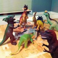 Dinosaur community...